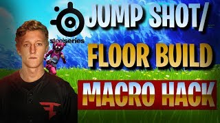 Fortnite Phases tfeu JUMP SHOT/QUICK BUILD MACRO HACK TUTORIAL. Steelseries. qui travaille.