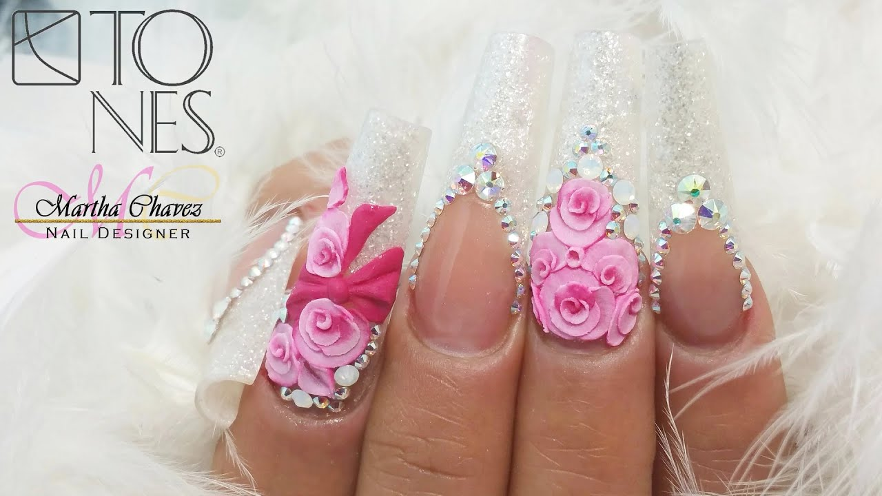 Primavera nail design by tones products youtube primavera nail design by tones products youtube freerunsca Image collections