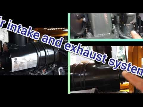 Air Intake And Exhaust System Engine Diesel (Basic Heavy Equipment)