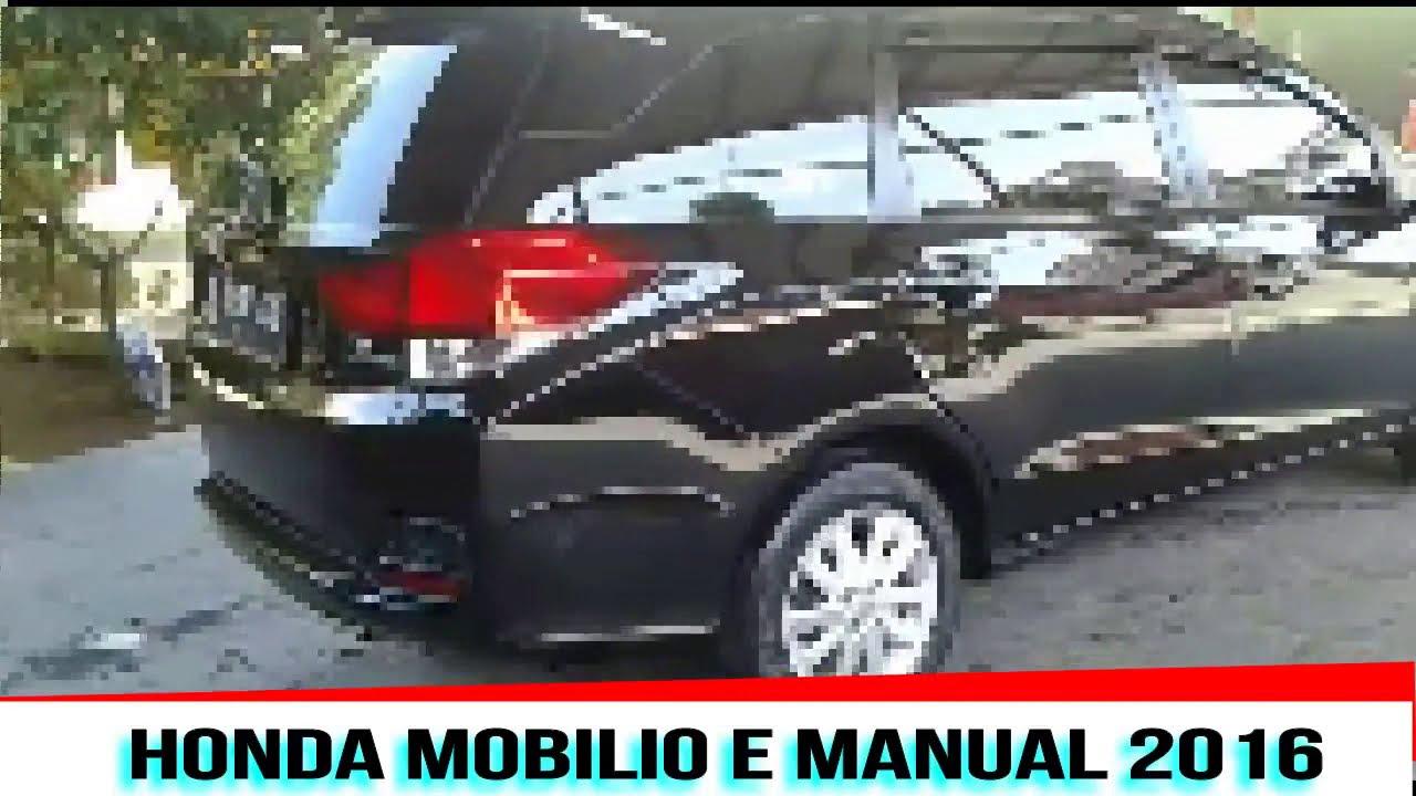 Honda Mobilio E 2016 - YouTube