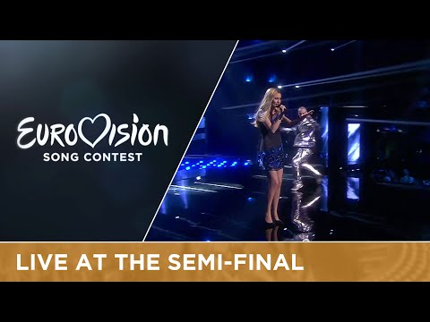 Lidia Isac - Falling Stars (Moldova) Live At Semi - Final 1 Of The 2016 Eurovision Song Contest