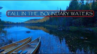 Fall Canoe Camping iฑ Minnesota's Boundary Waters Part 1