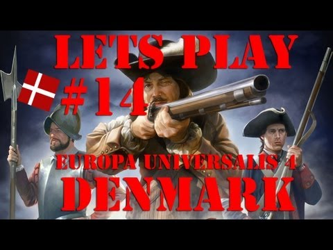 Europa Universalis 4 - Denmark: ep 14 Scandinavia has arrived