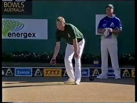 Lawn Bowls 2001 Australia VS Ireland - Men Pairs Series (Part 1 of 5)