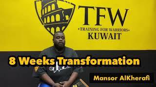 8 Weeks Challenge - Mansor Story