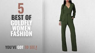 Goldfly Women Fashion [2018 Best Sellers]: Jumpsuits For Women, Sexy Long Sleeve Girls Bodycon