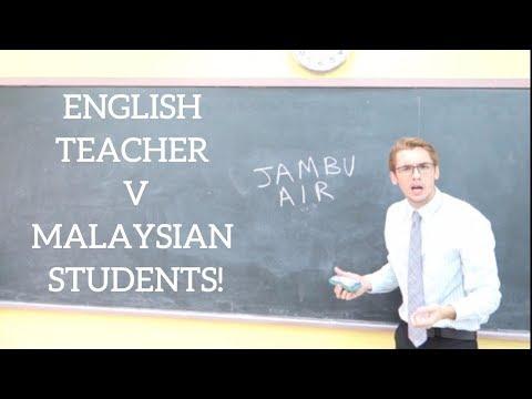 MALAYSIAN KIDS CORRECT ENGLISH TEACHER! | Oh My Bahasa Malaysia!