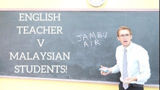 MALAYSIAN KIDS CORRECT ENGLISH TEACHER! | Oh My Bahasa Malaysia!