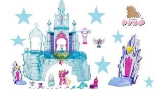 Хрустальный Замок. Кейденс и Фларри Харт Crystal Empire Castle. Май Литл Пони Мультик Распаковка