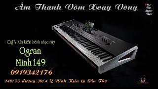 Clip Ba Mươi Bốn  - Lk Âm Thanh Vòm Xoay Vòng - Organ Hòa Tấu - Organ Minh 149