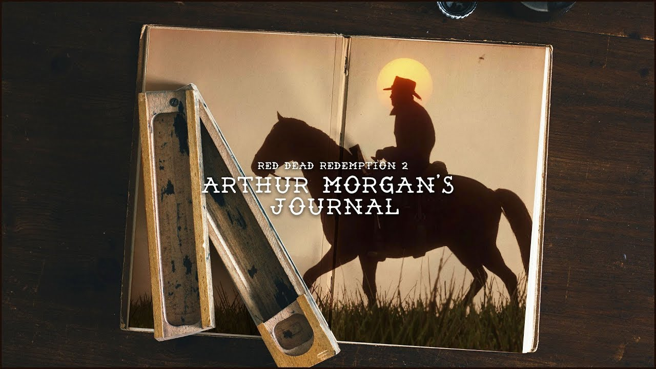 Arthur Morgan S Journal Red Dead Redemption 2 Youtube