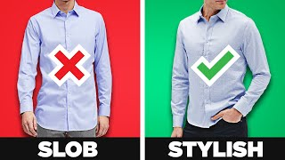 Wear Your Shirt Untucked And Look Amazing! Tucked Vs UnTucked (The 3 Rules!)