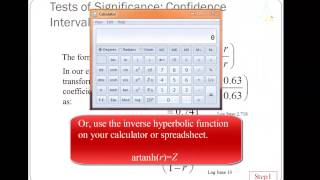 Introduction to Pearson's Correlation Coefficient, pt. 2