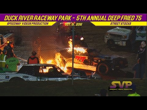 Duck River Raceway Park   STREET STOCKS   0ct 14 , 2016