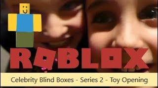 Roblox Celebrity Series 2 Blind Boxes - Toy opening #roblox #robloxcelebrity #blindboxes