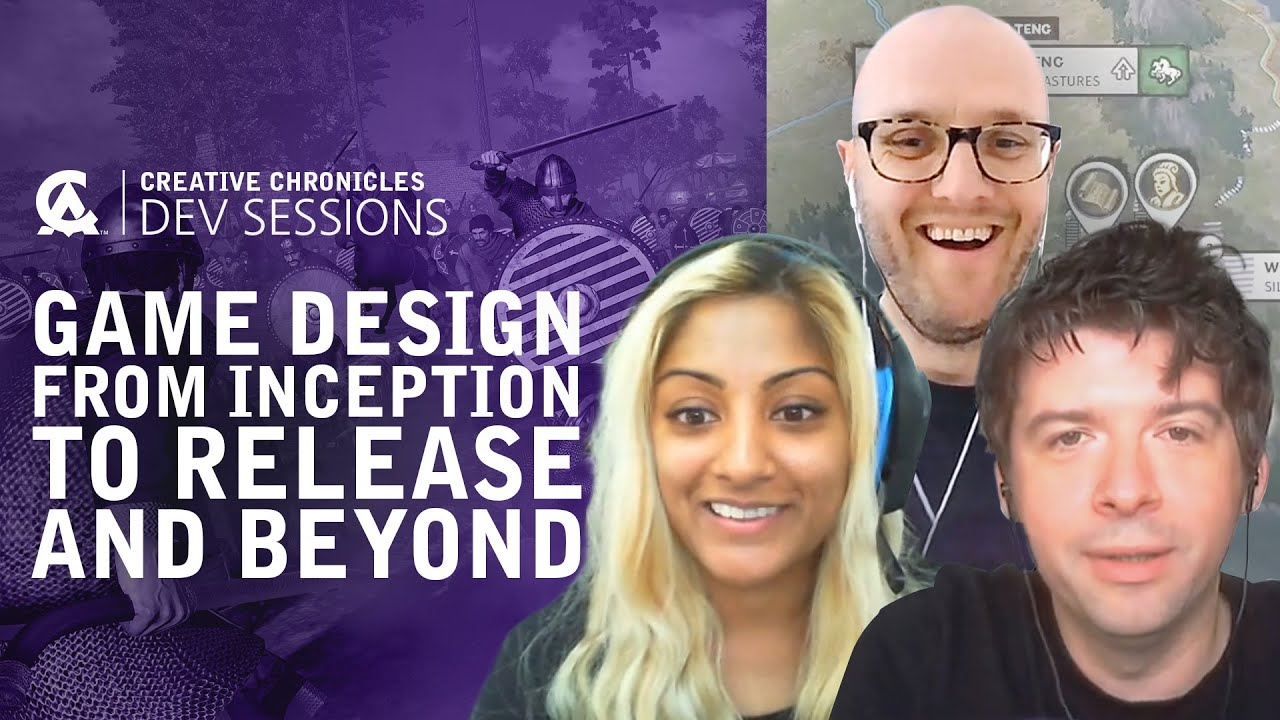 Game Design from Inception to Release and Beyond | Creative Assembly