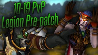 PRIESTS ARE BEASTS - Level 10-19 Resto Druid PvP #2 - Swifty Plays WoW: Legion Pre-patch 7.0.3
