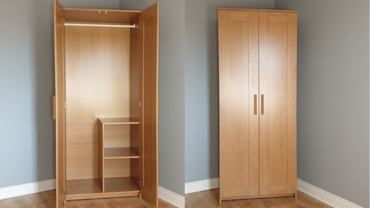 Ikea Brimnes Wardrobe With 2 Doors