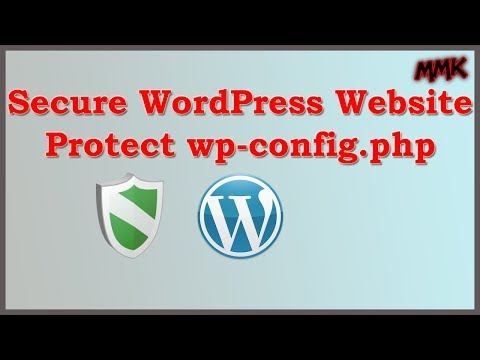 Secure WordPress Website – Protect wp-config.php File