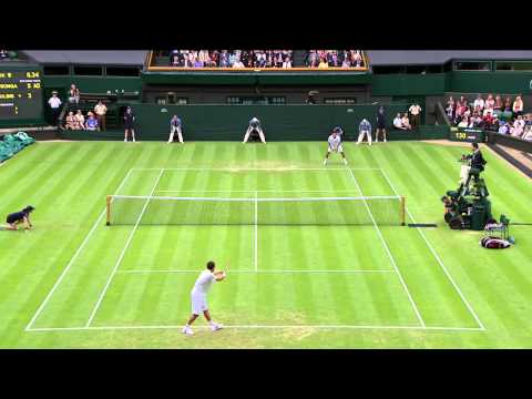 2013 Day 3 Highlights: Jo-Wilfried Tsonga v Ernests Gulbis