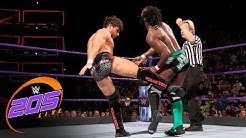 Rich Swann vs. Noam Dar: WWE 205 Live, Nov. 28, 2017