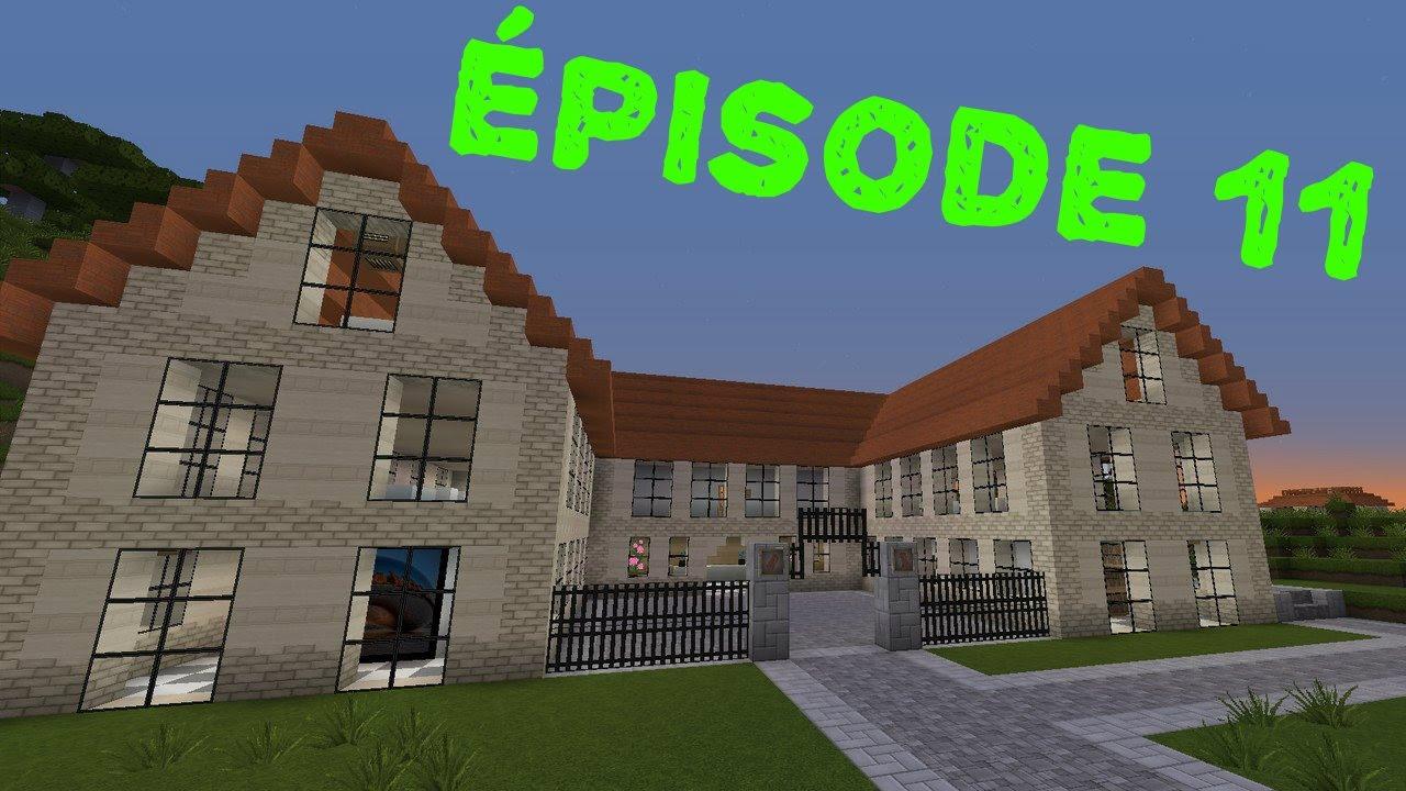 Minecraft construction d 39 une ville 11 l 39 universit youtube - Video de minecraft construction d une ville ...