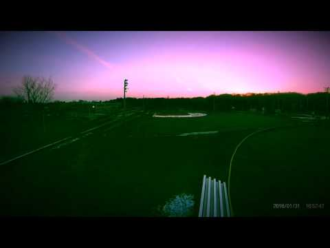 Syma X8C areal sunset @ Breed middle school Lynn Mass
