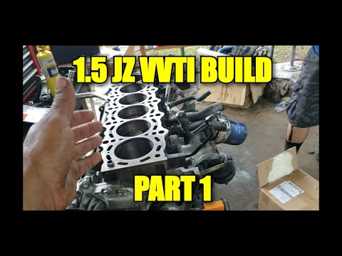 1 VVTI BUILD/ PART 1