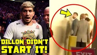 New video evidence shows what started UFC brawl between Dillon Danis & Khabib's team at UFC 229