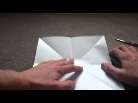moulin en papier fabriquer un moulin youtube. Black Bedroom Furniture Sets. Home Design Ideas