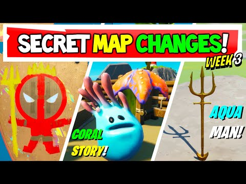 Fortnite | All Secret Map Changes V13.20 & Easter Eggs!
