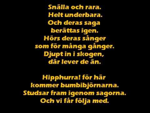 Bumbibjörnarna (svensk)