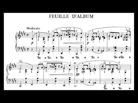 Chopin - Album Leaf B. 151