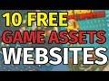 TOP 10 BEST FREE Game Assets Websites - 2018