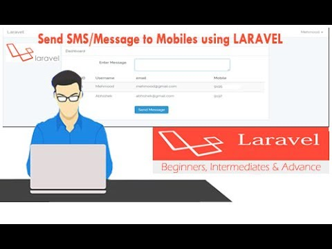 How to Send SMS/Message to Mobiles using PHP Laravel Framework