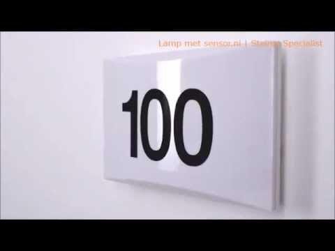 Steinel Ln 1 Lamp Met Sensor Nl Youtube