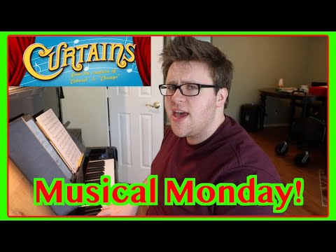 Show People from CURTAINS the Musical | Musical Monday!