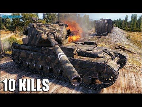 Бабаха на Прохоровке ✅ World of Tanks FV215b (183) лучший бой