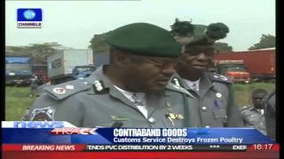 Customs Seize Contraband Poultry Products