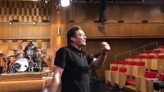 Jimmy Fallon monologue rehearsal Monday #monologuemonday may 14,2018