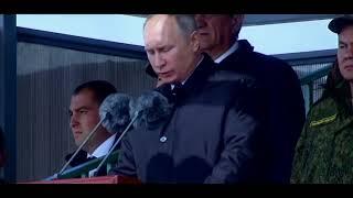 Самое устрашающее видео от Путина. Путин показал армии России и Китая Восток 2018