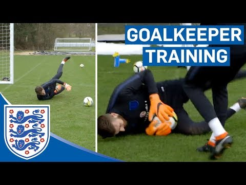 Reactions, Speed and Agility Tests | U21 Goalkeeper Training | Inside Training