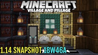 Minecraft 1.14 Snapshot 18w46a: Lanterns,  New Textures, And Pillager Changes!