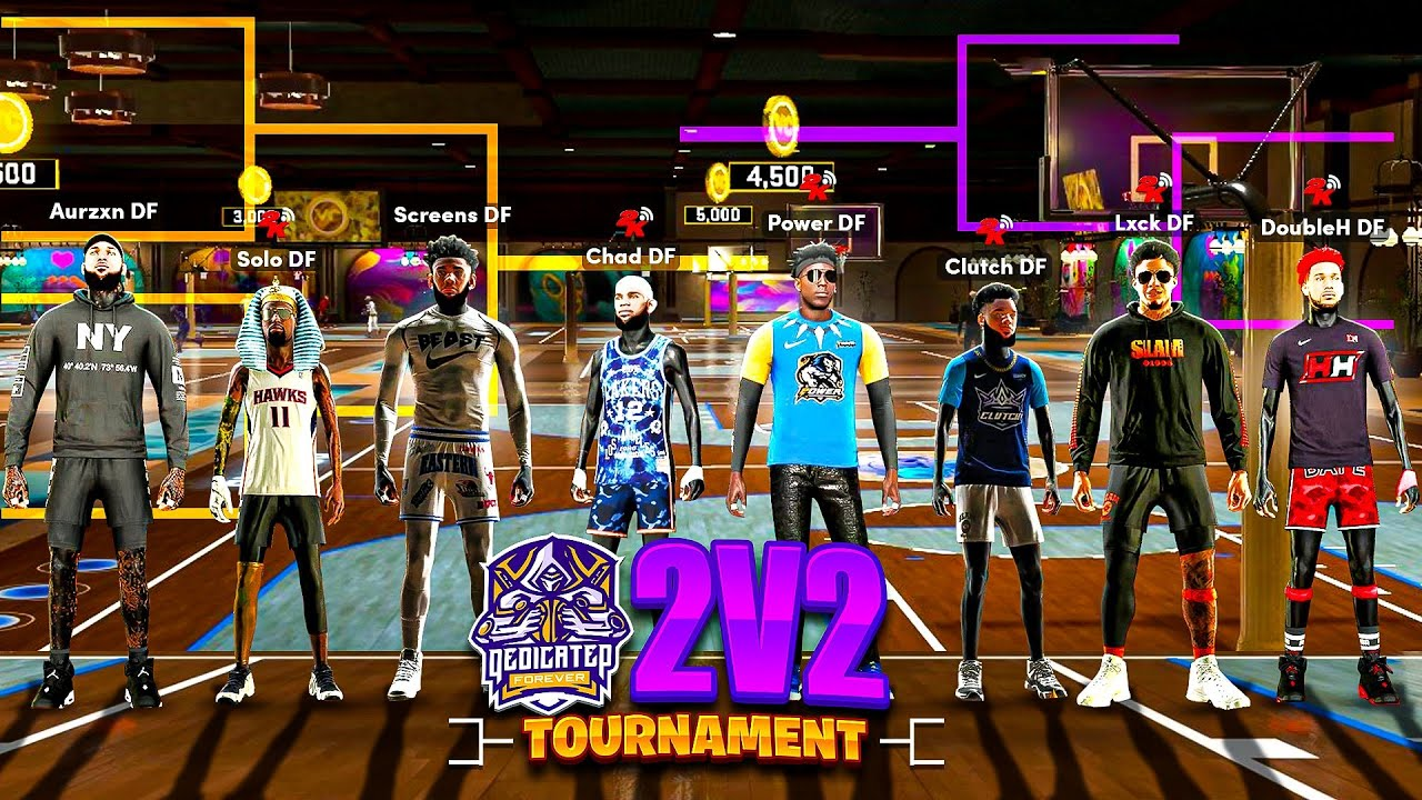 FIRST EVER DF 2V2 TOURNAMENT in NBA 2K21