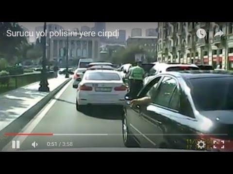 Sürücü yol polisini