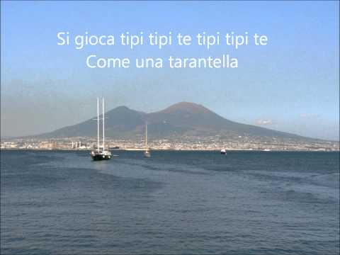 That's Amore (In Italian w/ lyrics) - Quando la luna brilla