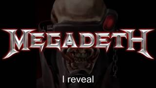 Watch Megadeth Kill The King video