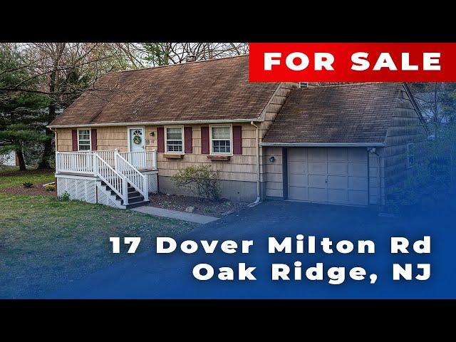 Cinemaflight Property Tours: 17 Dover Milton Rd, Oak Ridge, NJ