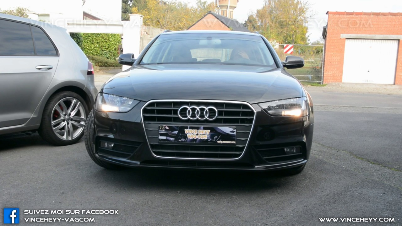 Audi A4 B8 Facelift Enabledisable Drl With Mmi