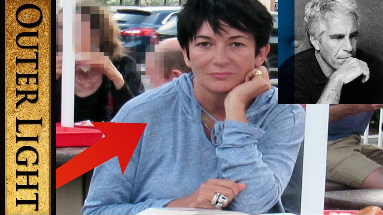 The Outer Light Staged Ghislaine Maxwell photo at In-N-Out Burger and HER Amazon review